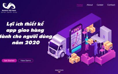 Lợi ích thiết kế app giao hàng dành cho người dùng năm 2020