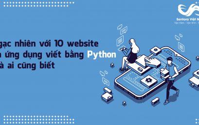 Ngạc nhiên với 10 website và ứng dụng viết bằng Python mà ai cũng biết